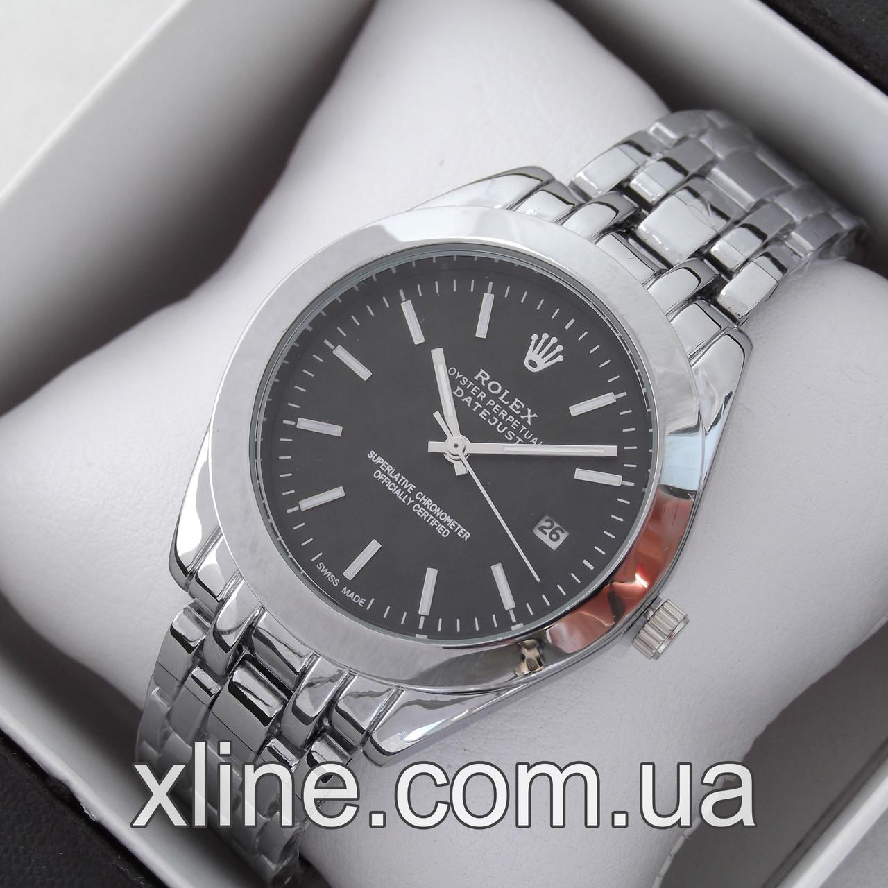 Женские наручные часы Rolex A135 на металлическом браслете