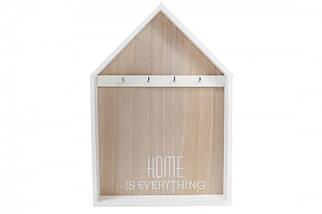 ✅  Ключница Деревянная Home White