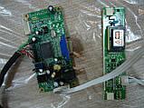 Комплект плат для ЖК монитора (материнская плата Ac204545 2621, инвертор INV2L-S01X и кабель 30 пин LVDS), фото 4