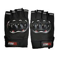 Велоперчатки Sports с защитой для костяшек
