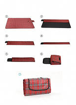 ✅  Плед для пикника Sheng Yuan red, фото 3