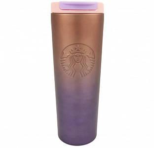 ✅  Термокружка хамелеон матовая Starbucks тамблер 473мл