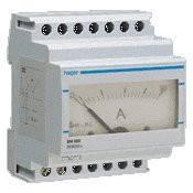 Амперметр аналоговый, прямого включения, 0-5 А , 4м Hager (SM005)