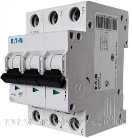 Автоматический выключатель Eaton-Moeller PL6 3P 6A  - NanohomeElectro в Днепре