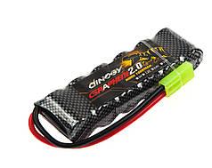 Аккумулятор Dinogy NiMH 2/3A 1600mAh 7.2V 17x32x100мм Mini Tamiya