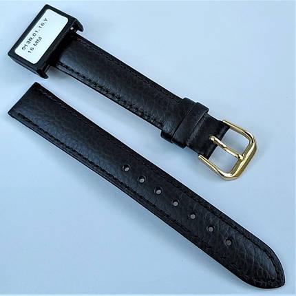 16 мм Кожаный Ремешок для часов CONDOR 513.16.01 Черный Ремешок на часы из Натуральной кожи, фото 2