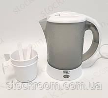 Чайник электрический дорожный 0.6 л Adler
