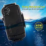 Підводний чохол бокс HAWEEL HWL-2507B для Apple iPhone XR - Black, фото 4
