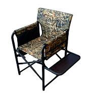 """Кресло складное """"Режиссер с полкой"""" d25 мм, Камыш, до 115 кг"""