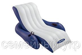 Надувное кресло-матрас. Intex 58868, фото 2