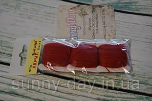 Акрил для вишивки, колір - бордовий