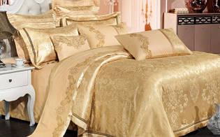Элитный комлект постельного белья сатин жаккард Tiare