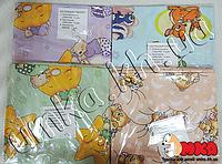 Детское сменное постельное белье для новорожденного 3 в 1 на резинке,бязь