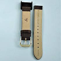 18 мм Кожаный Ремешок для часов CONDOR 051.18.02 Коричневый Ремешок на часы из Натуральной кожи, фото 2