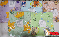 Набор детского сменного постельного белья для новорожденного 3 в 1 бязь