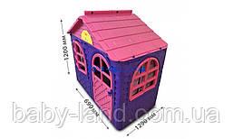 Дитячий будиночок пластиковий для будинку і вулиці Doloni 02550/10