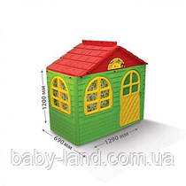 Детский игровой домик пластиковый для дома и улицы Doloni 02550/13