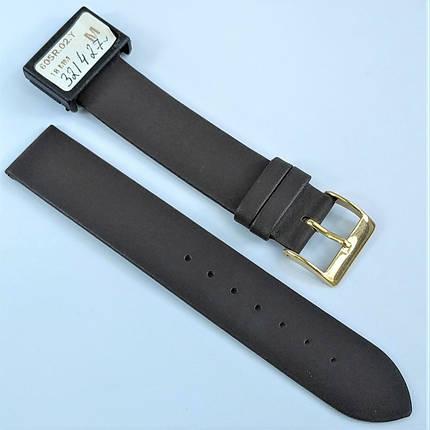 18 мм Кожаный Ремешок для часов CONDOR 605.18.02 Коричневый Ремешок на часы из Натуральной кожи, фото 2