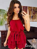 Легкое платье с рюшами, фото 1