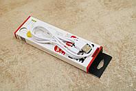 USB кабель шнур для iPhone 5,6,7 Lightning , кабель для зарядки айфона 1м