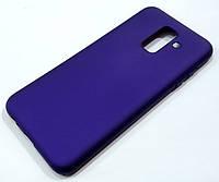 Чохол Silicone Cover для Samsung Galaxy A6 Plus A605 2018 / A6+ 2018 фіолетовий