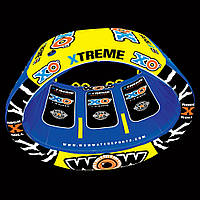 Водный буксируемый аттракцион, плюшка WOW 3P XO Extreme