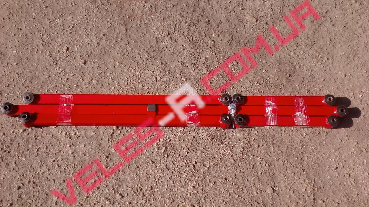 Штанги (тяги) реактивные Нива ВАЗ 2121, 21213, 21214, 2123 Харьков красные усиленные