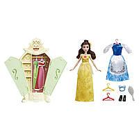 Кукла Бель Disney Princess Belle's Гардеробная