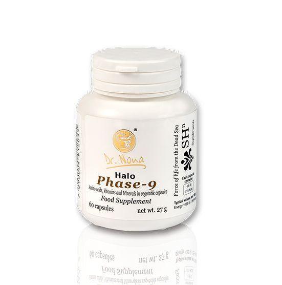 Доктор Нона Фаза-9/ Dr.Nona - Halo Phase-9 - Dead Sea Minerals Dietary Supplement Vitamins