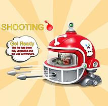 Боевая машина Броне-машина-Робот Игровой набор Растения против зомби Plants vs Zombies