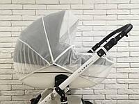 Москитная сетка на коляску Z&D с окошком на змейке (Белый)