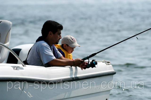 Рыбалка на лодке