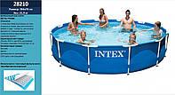 Басейн каркасний (бассейн) INTEX 28210 круглий, (6+ років), в кор. 366*76 см