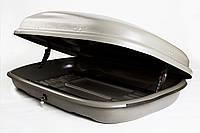 Багажный бокс Десна-Авто 320л серый, одностороннее открывание