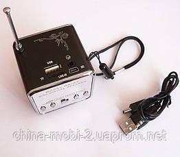Mini Digital Speaker WS-A7  портативное радио колонка +TF , фото 3