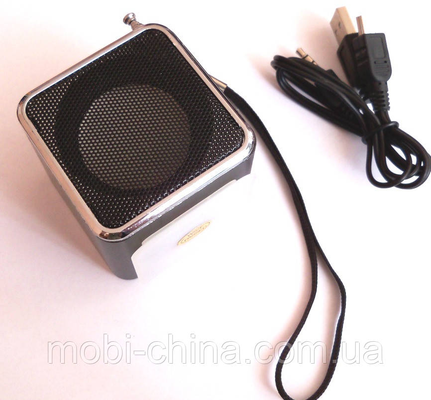 Mini Digital Speaker WS-A7  портативное радио колонка +TF