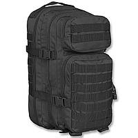 Рюкзак тактический  ASSAULT( L) большой  на 36  литров  цвет черный ( MiL-Tec) ГЕРМАНИЯ