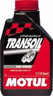 Масло трансмиссионное для скутеров минеральное MOTUL TRANSOIL SAE 10W30 (1L) 100065