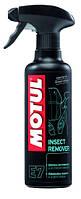 Средство для удаления следов загрязнений мотоциклов MOTUL E7 INSECT REMOVER (400ML) 103002, фото 1