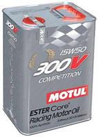 Масло моторное синтетическое  MOTUL 300V COMPETITION SAE 15W50 (5L) 103920