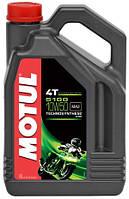 Масло моторное для мотоциклов Technosynthese MOTUL 5100 4T SAE 10W50 (4L) 104076