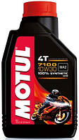 Масло моторное для мотоциклов синтетическое MOTUL 7100 4T SAE 10W30 (1L) 104089
