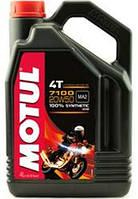 Масло моторное для мотоциклов синтетическое MOTUL 7100 4T SAE 20W50 (4L) 104104