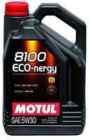 Масло моторное синтетическое  MOTUL 8100 ECO-NERGY SAE 5W30 (4L) 104257