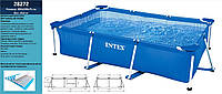 Басейн каркасний (бассейн) INTEX  28272 прямокутний (6+ років), в кор. 300*200*75 см