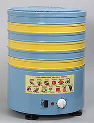 Електросушарка металева для фруктів і овочів Елвін СУ-1 потужністю 800 Вт