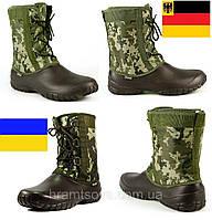 Мужские сапоги берцы JozAmore Alles. Германия - Украина. Цвет олива цифра камуфляж