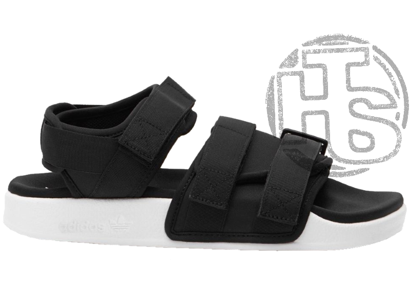 8bae0a7e Женские сандалии Adidas Originals Adilette Sandal Black/White S75382 -  Интернет-магазин