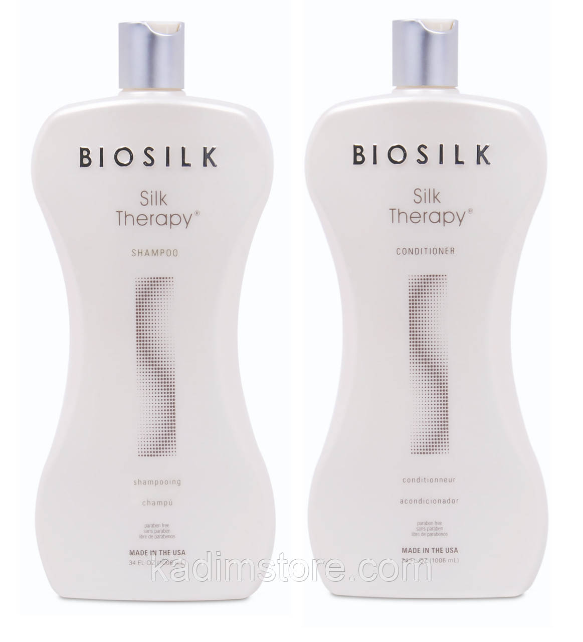 "Шампунь + Кондиционер ""Шелковая терапия"" - Biosilk Silk Therapy 1006мл + 1006мл"