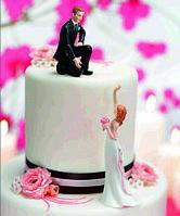 Фигурки на свадебный торт (арт. 1016)